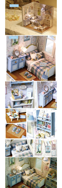 Miniature Dollhouse DIY Kit Have Fun!