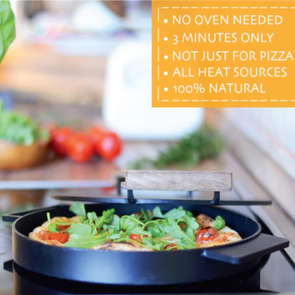 IRONATE Pizza Oven