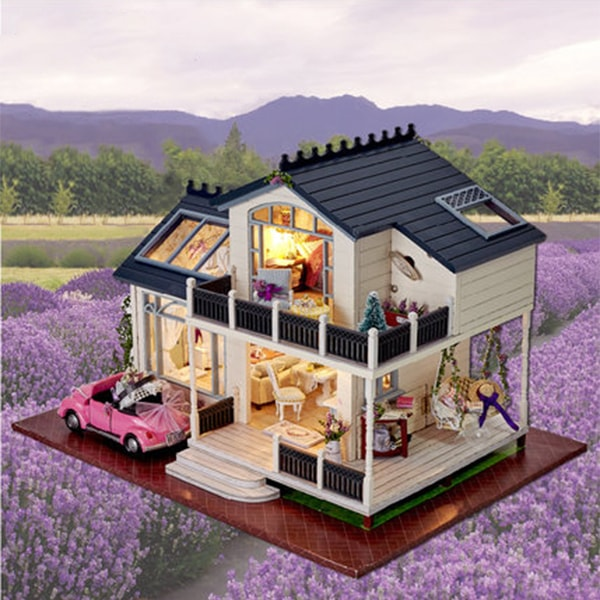 product image for DIY Provence Wooden Dollhouses