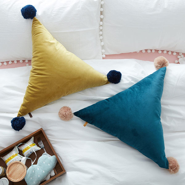 product image for  Triangle Shaped Throw Pillow