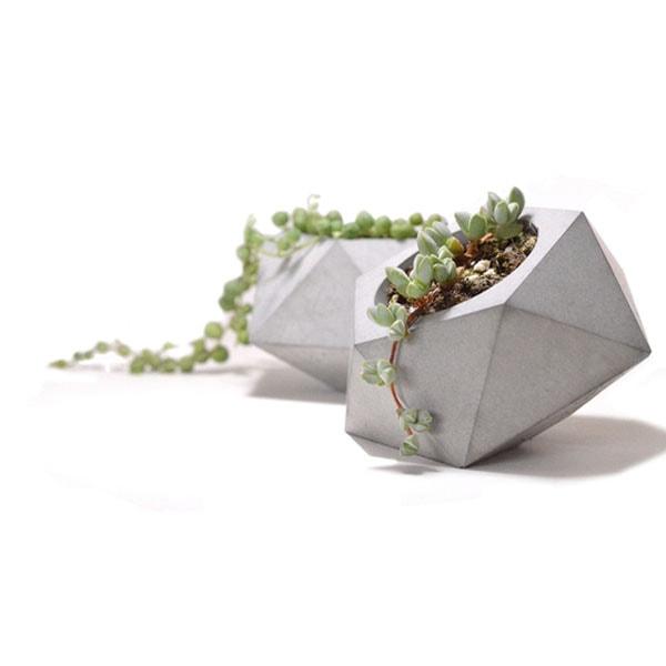 product image for Diamond Shape Concrete Planter