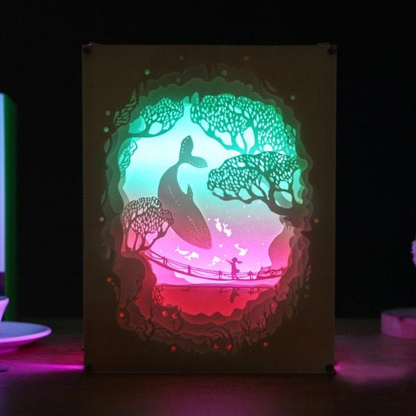 3D Paper Art Lamp