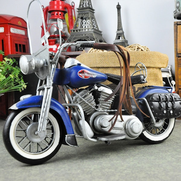 product image for Retro Style Motorcycle Miniature