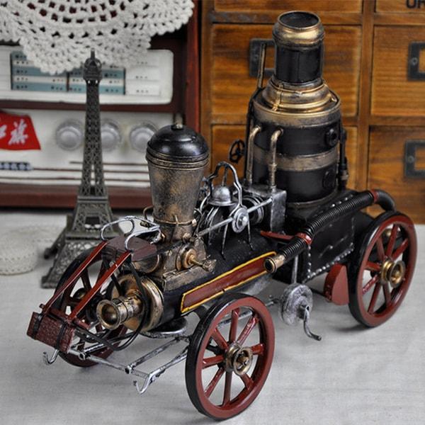 Antique Tin Model Locomotive
