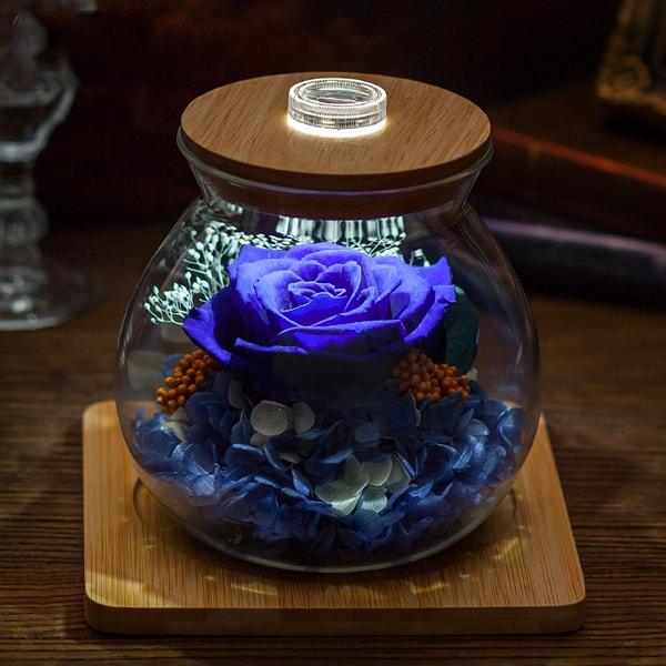 Preserved Rose Light Bottle