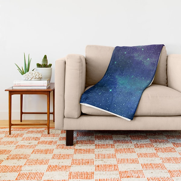 "Galaxy Throw Blanket (51"" x 60"")"