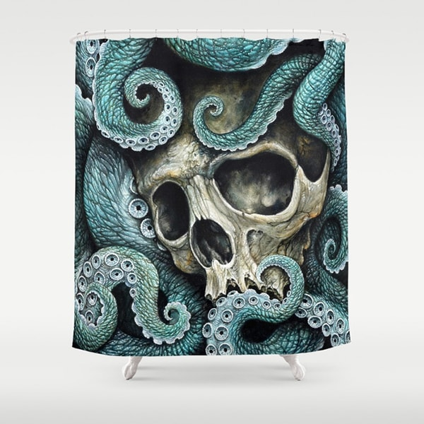 "product thumbnail image for Art Print Shower Curtain (71"" x 74"")"