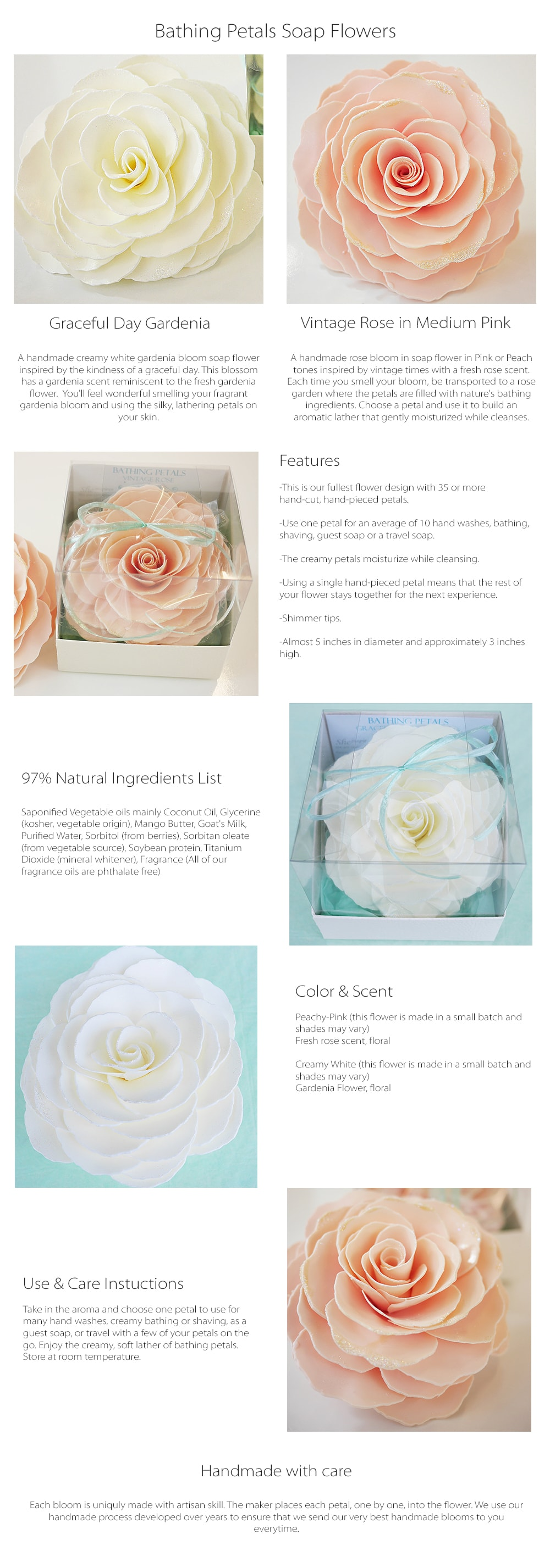 Luminous Rose Soap Surprising Gift For Your Loved Ones!