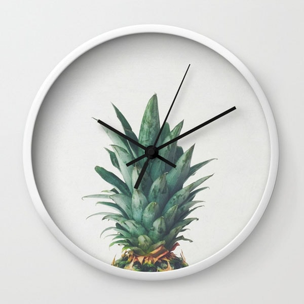 product image for Wall Clock - Pineapple Top