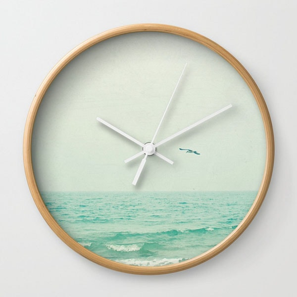 Wall Clock - Lone Bird