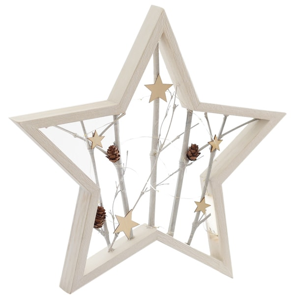 product image for Star Shaped Wall Decor with LED Light