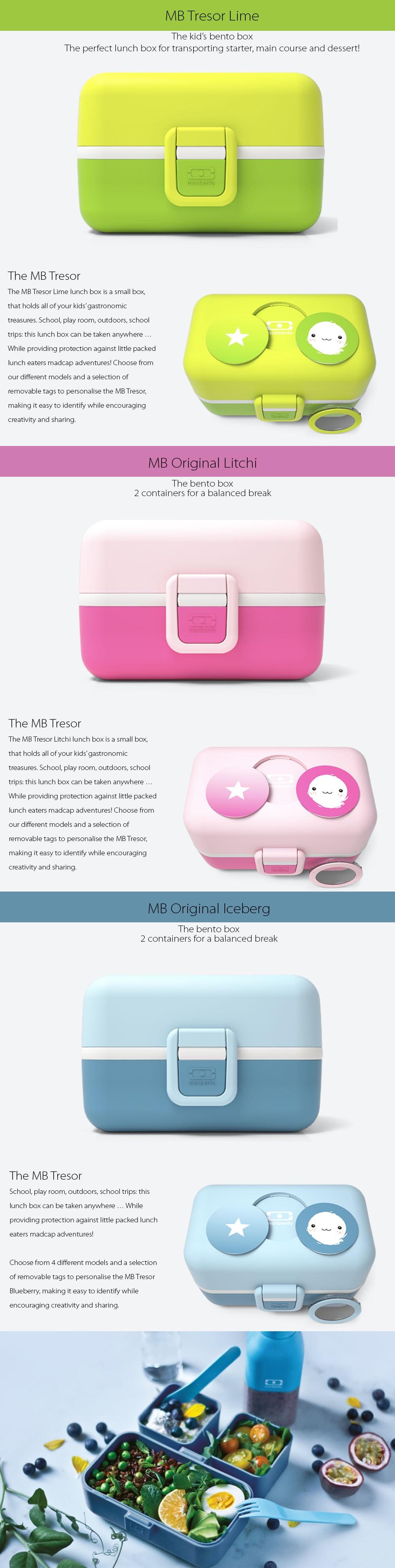 MB Tresor Bento Box The kid's bento box