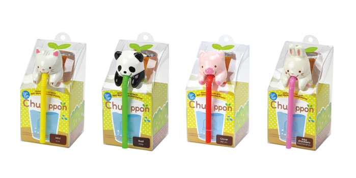 Chuppon with Sea Friends  (4 Pieces) Drinking Animal Planters