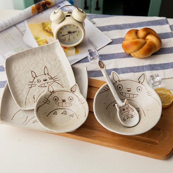 Totoro Dinnerware Set