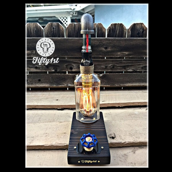"Industrial Table Lamp ""Jack"""