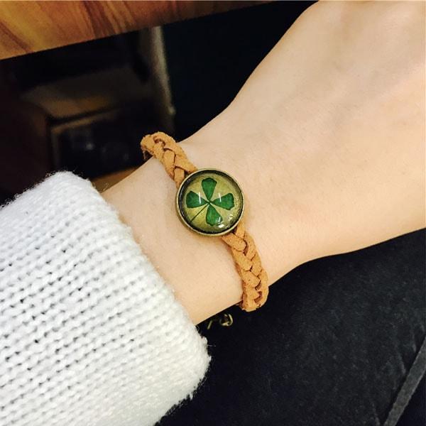 Pressed Flower Bracelet