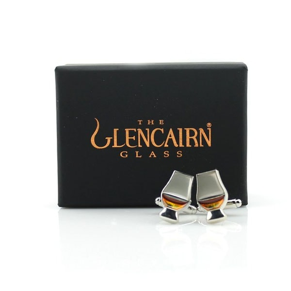 GLENCAIRN GLASS CUFFLINKS (OUT OF STOCK)