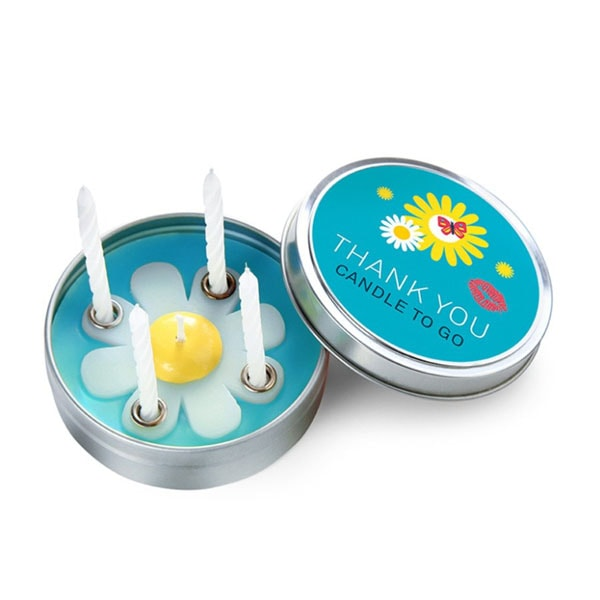Candle to Go in Tin