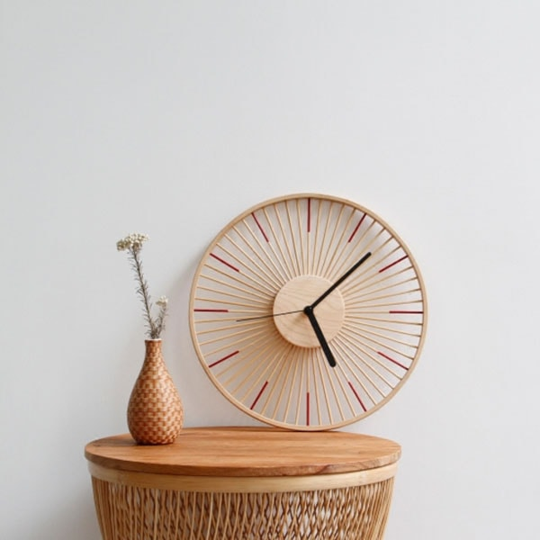 product image for Modern Wooden Clock