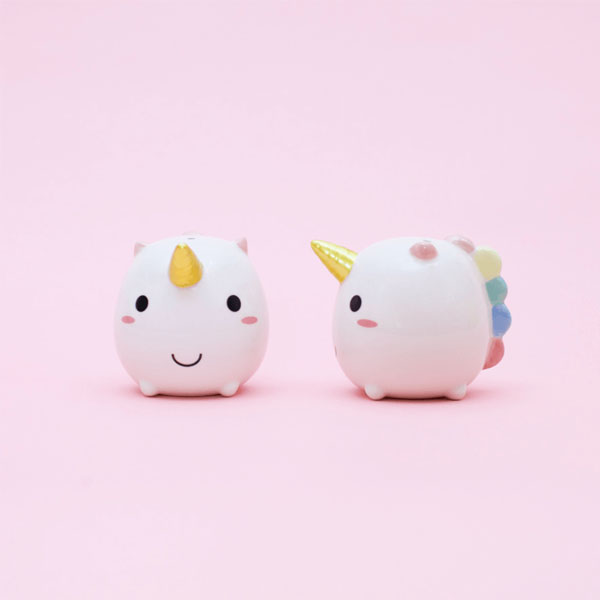 Elodie Unicorn Salt & Pepper Shakers