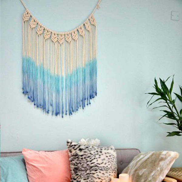 INOpets.com Anything for Pets Parents & Their Pets Ombre Colored Woven Wall Art