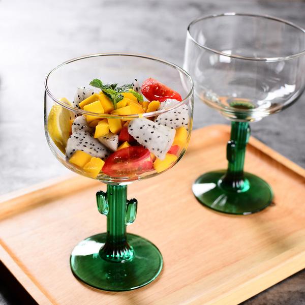 Novelty Cactus Glass