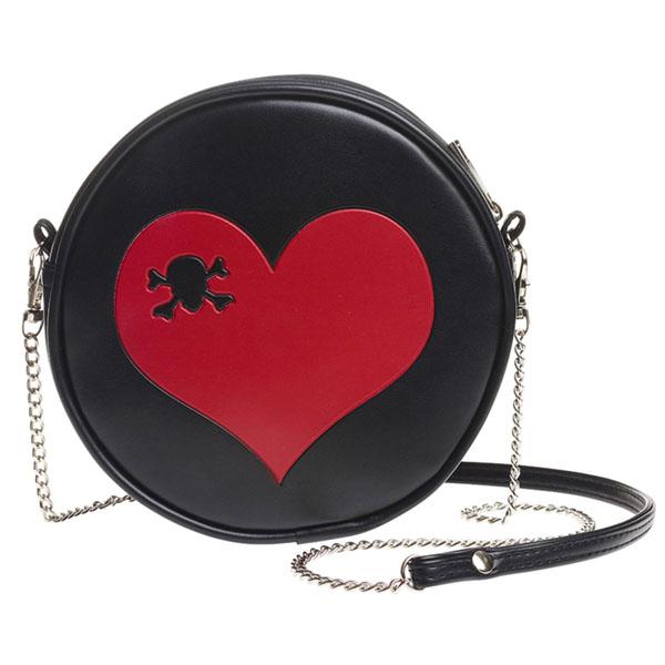 Skull Heart Bag