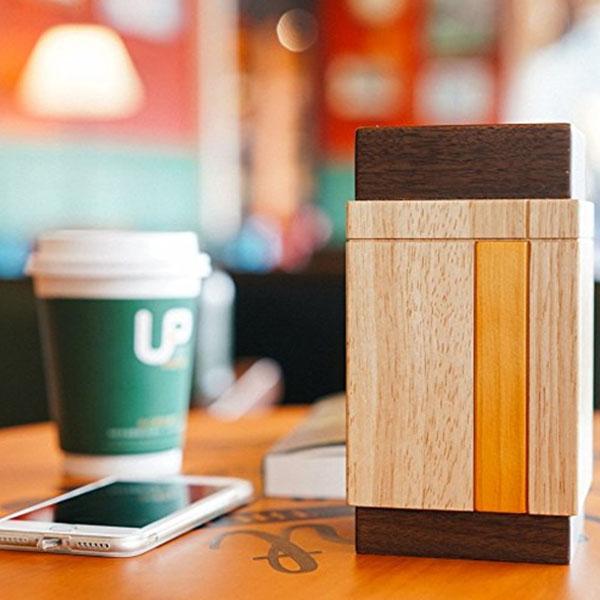 Eastern Lantern Compact Wood Speakers