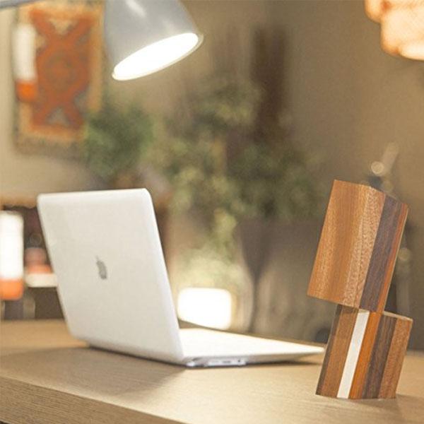 Hexagon Compact Wood Speakers