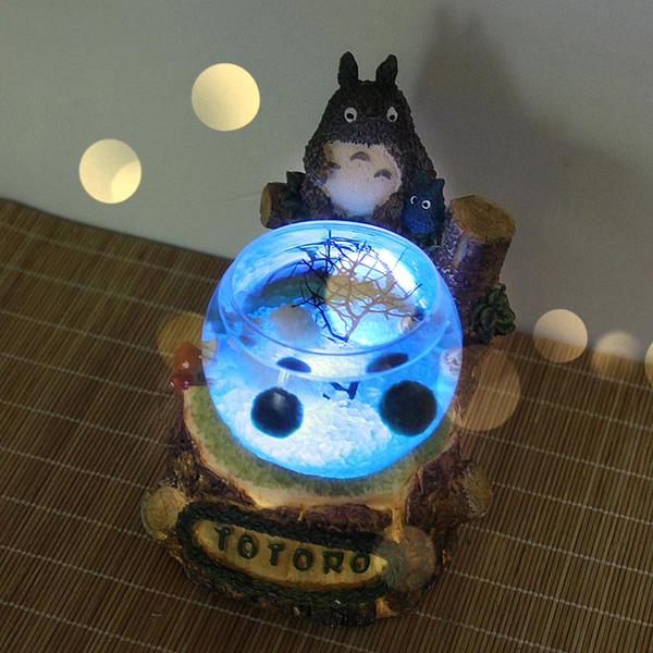 product image for Totoro Marimo Terrarium with LED Light