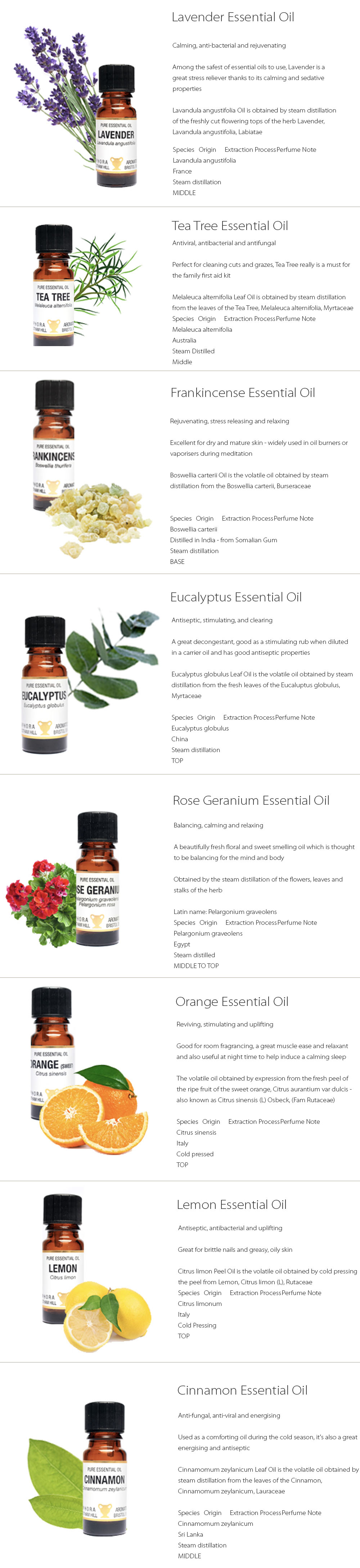 Essential Oil Collection Smoothing Experience For You