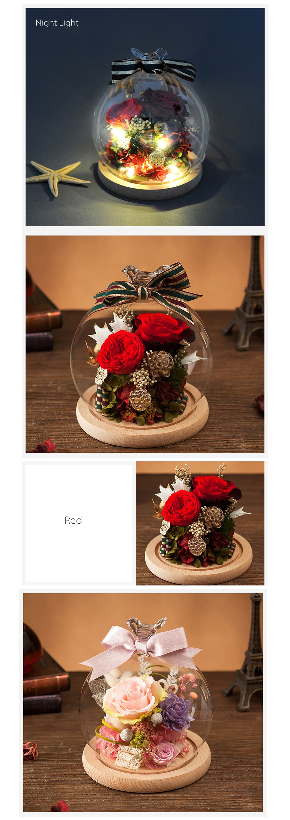 Preserved Rose Bouquets A Unique Gift