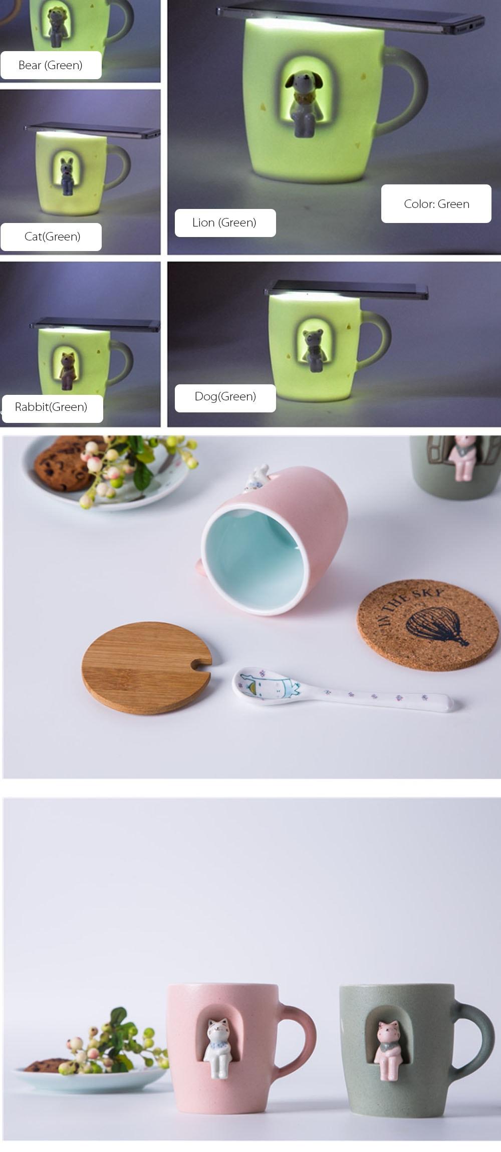 Cat Mug Couple Mark