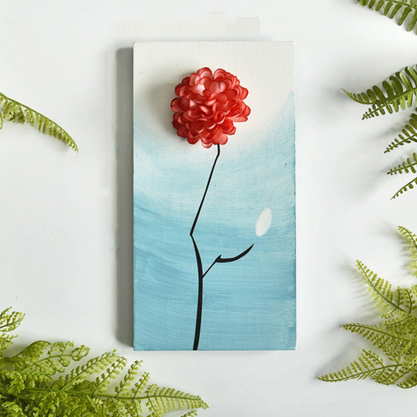 product image for 3D Floral Wall Plaques