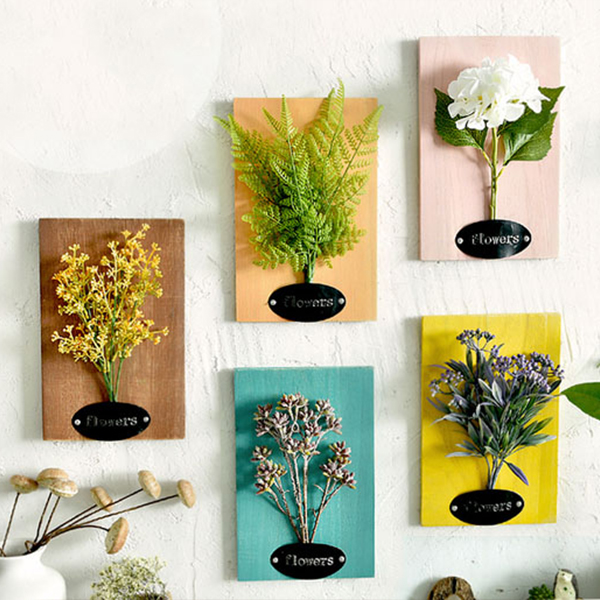 INOpets.com Anything for Pets Parents & Their Pets Faux Flower Wall Art