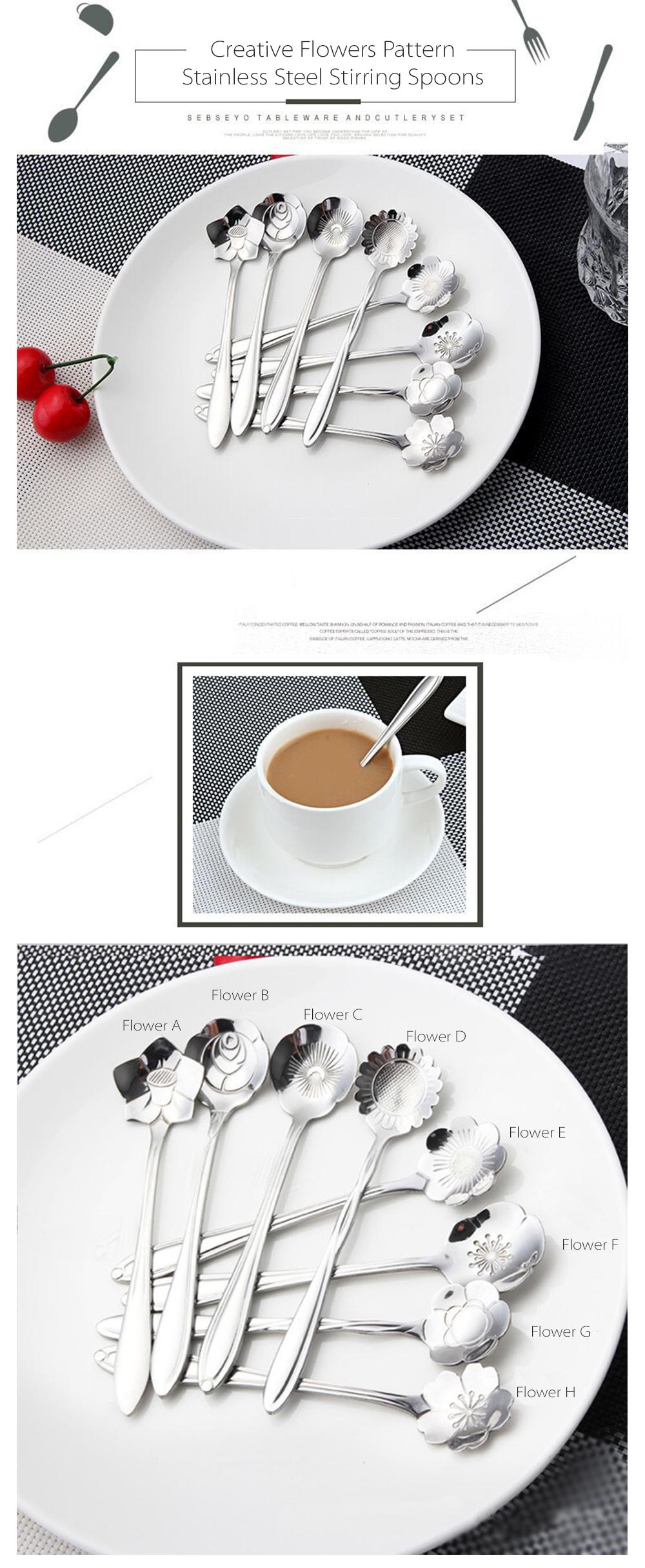 Creative Spoon Set Choose Your Favorite Pattern