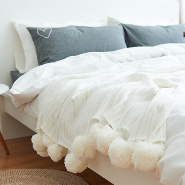 product image for Pom Pom Throw Blanket