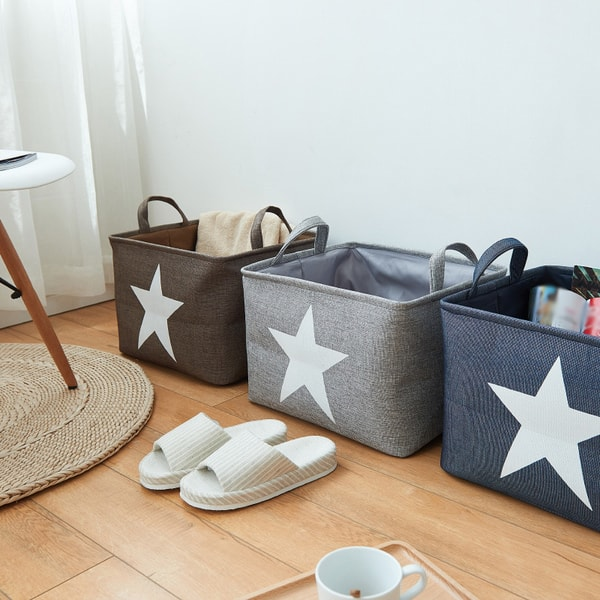 Canvas Storage Tote