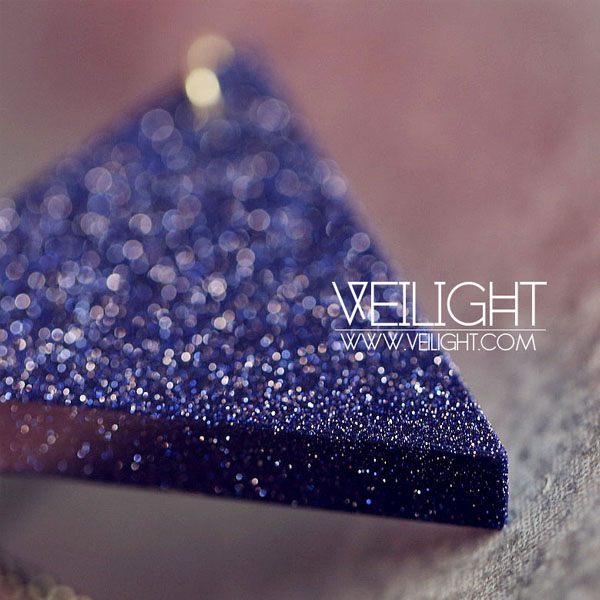 Galaxy Triangle Necklace