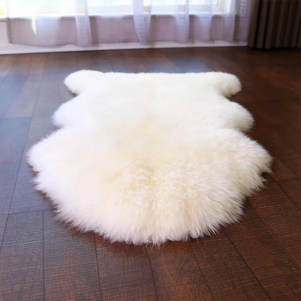 product image for Faux Sheepskin Area Rug