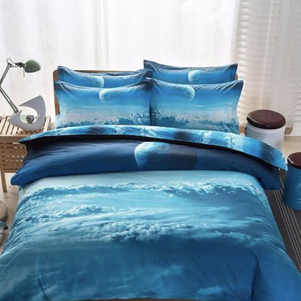 3D Galaxy Bedding Set