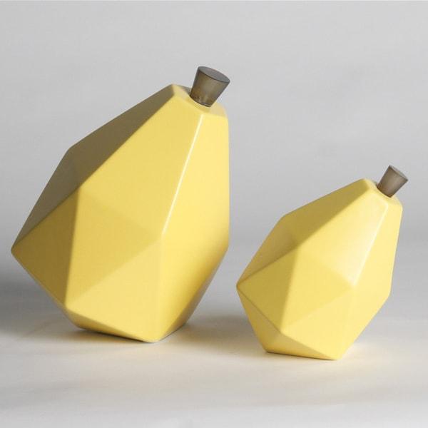Ceramic Pear Sculptures