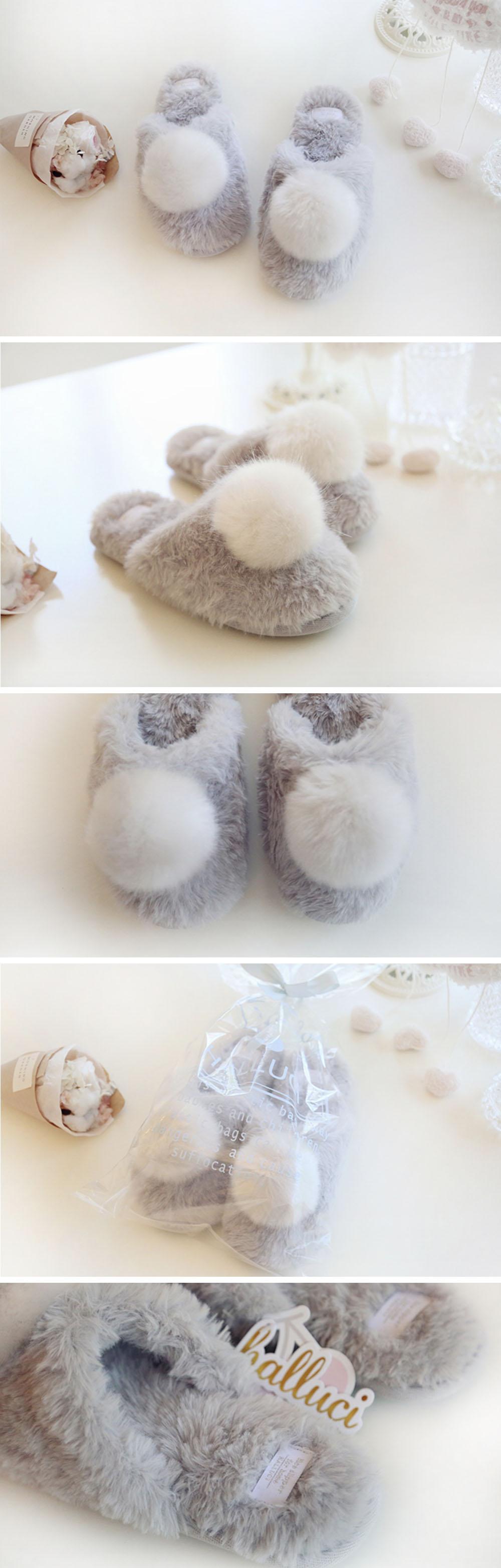 Slippers Fluffy Slippers