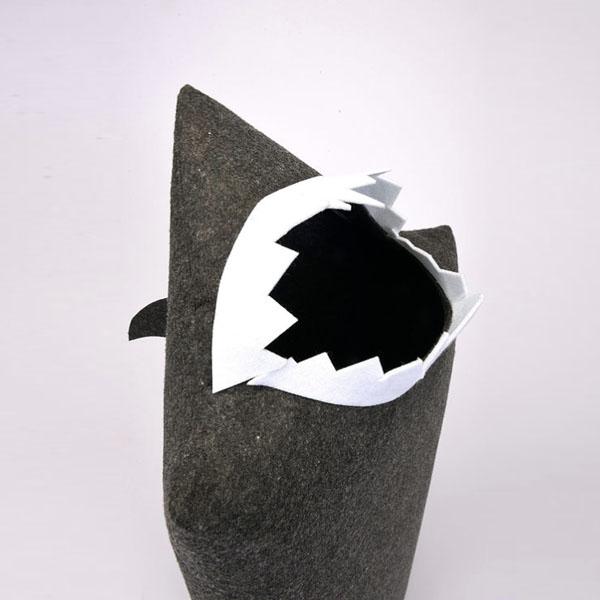 product image for JawZ Shark Laundry Bin