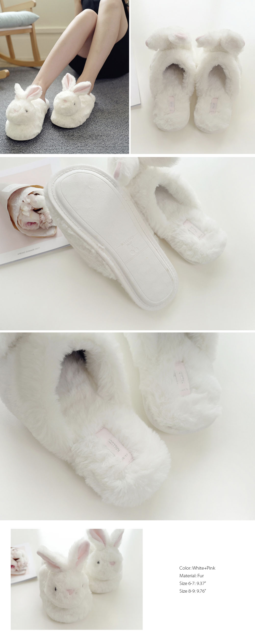 Rabbit Slipper Cute Collection