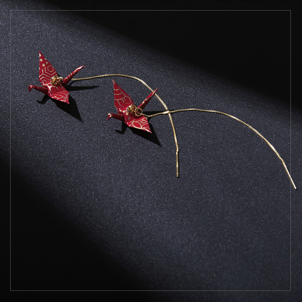 product image for Origami Crane Earring