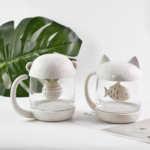 Animal Tea Mug With Infuser
