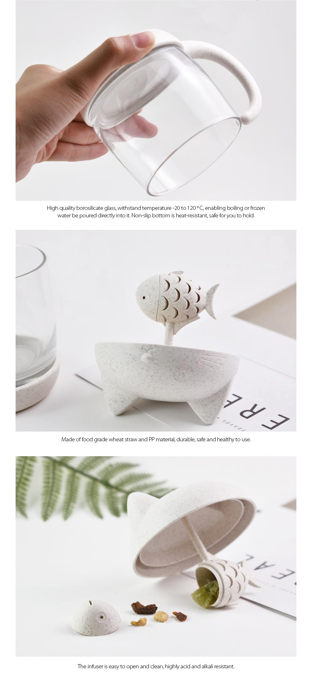 Tea Mug With Filters For Tea Lovers