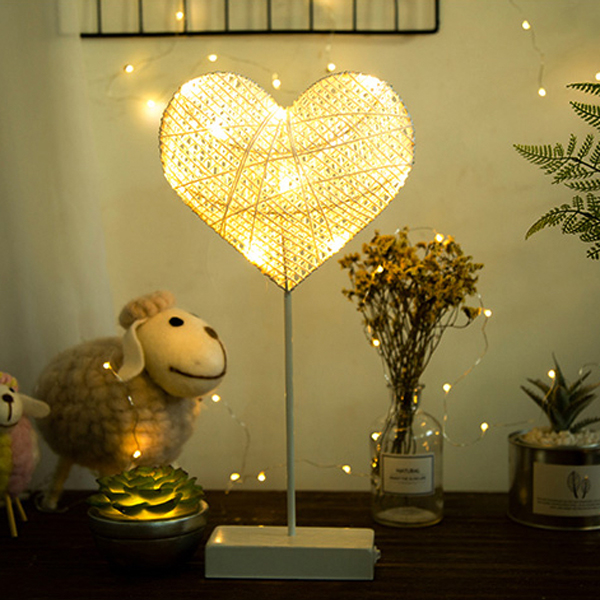 product image for Star And Heart LED Lamp