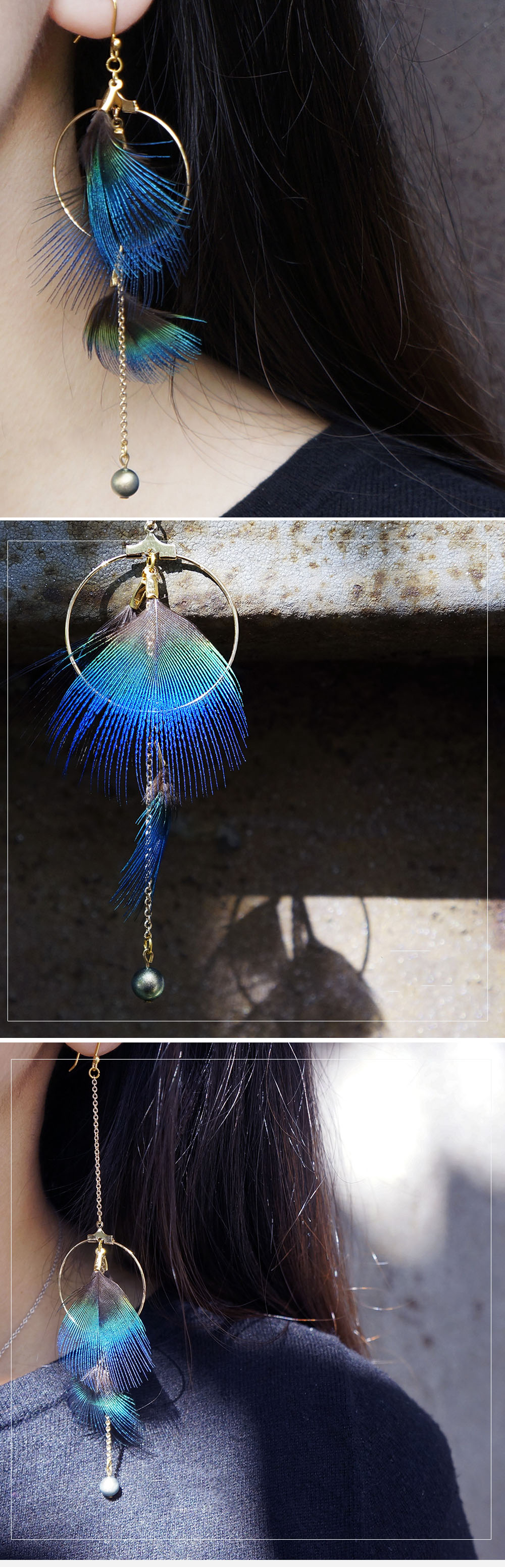 Earing Peckion (Single Ring) Handmade